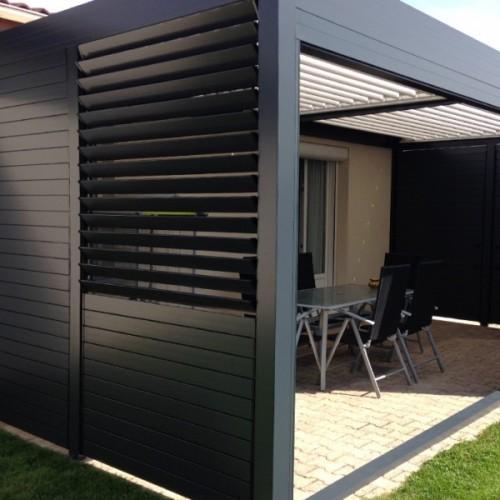 la pergola arlequin par solisysteme jeu d 39 ombres et de couleurs. Black Bedroom Furniture Sets. Home Design Ideas