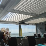 Solisysteme - Pergola bioclimatique - brise soleil à lames orientables