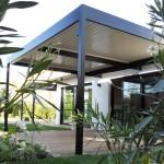 Solisysteme - Pergolas bioclimatiques - brise soleil à lames orientables
